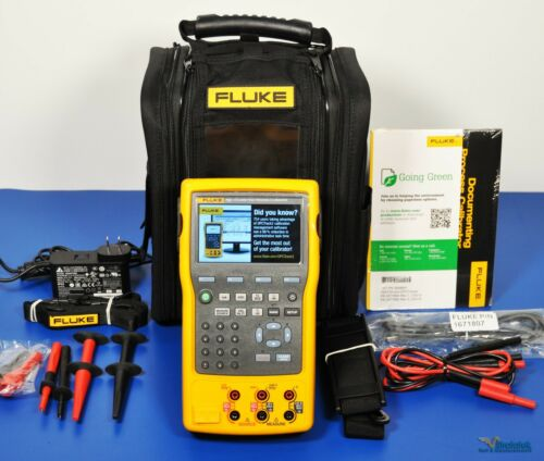 Fluke 753 SI Documenting Multifunction Process Calibrator NIST Calibrated