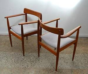 retro, vintage PAIR OF PARKER CHAIRS, fully restored Brookvale Manly Area Preview