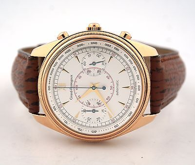 GIRARD PERREGAUX CLASSIQUE CHRONOGRAPH GP 4900 18K ROSE GOLD 4910 WATCH
