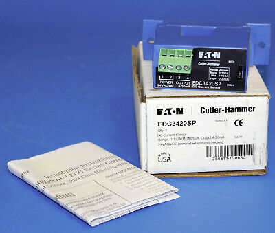 Eaton Cutler-hammer Edc3420sp Dc Current Sensor P51927