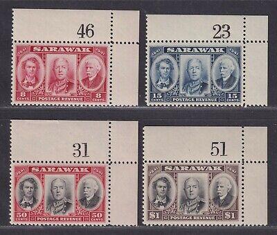 Sarawak SG 146-149 Scott 155-158 XF MNH/UMM 1946 Centenary Issue SCV $19.75+