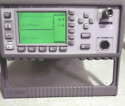 Hp Agilent E4418b Power Meter With Sensor And Cable Hp84881a