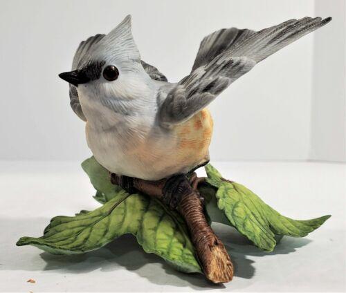 Lenox Tufted Titmouse Garden Bird Collection Fine Porcelain