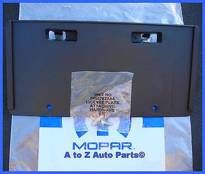NEW 2011-2014 Dodge Charger FRONT License Plate Bracket / Holder,OEM Mopar