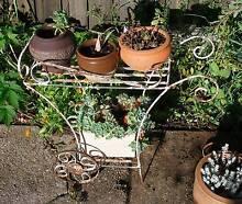 Vintage wrought iron plant pot stand Launceston 7250 Launceston Area Preview