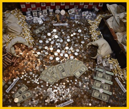 OLD US MIXED COIN LOT BULLION ESTATE SALE LIQUIDATION COLLECTION SILVER GOLD PDS