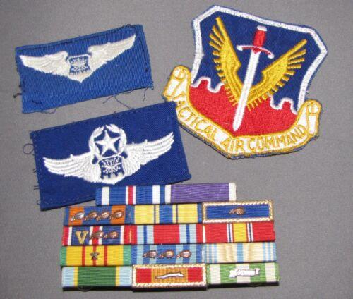 VN Era F-4 Backseater Ribbon Rack and Wings, Nice Original Items