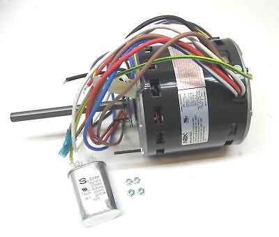 Air Handler Blower Motor 3/4 HP 1075 RPM 115 Volt 3 Speed fo