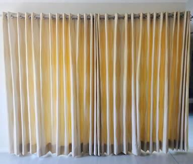 2in1 Living Room Large Window/ door Curtains