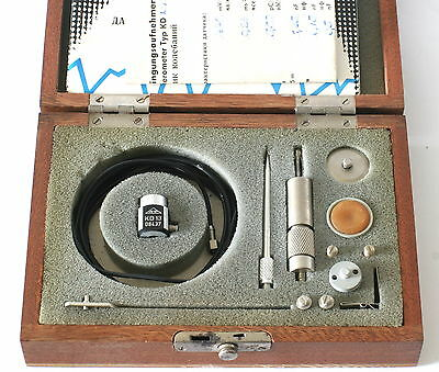 Vintage German Mmf Kd13 Accelerometer Vibration Calibration - 1970s