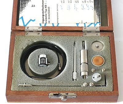 Vintage German Mmf Kd13 Accelerometer Vibration Calibration - 1970s