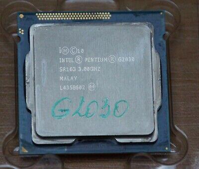 Processeur Intel Pentium G2030 3GHz Dual-Core (BX80637G2030)