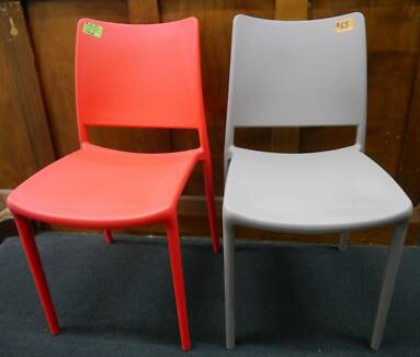 New Replica Pedrali Mya Dining Chairs Red Grey Outdoor Furniture