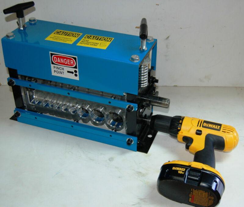 Wire Stripping Machine Copper Stripper Manual Recycling STRiPiNATOR ® MWS-808PD