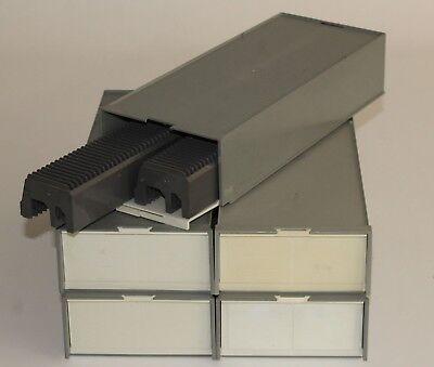 5 Stück Magazinbox 2x50 + 10 Universalmagazine Diamagazin Diabox Stapelbox