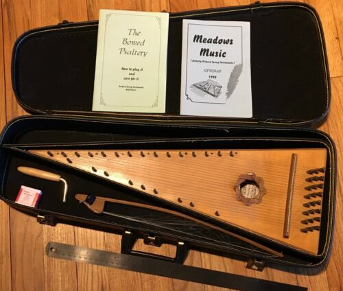 Bowed Psaltery ORCHARD SPRING INSTRUMENTS JEFF SEBENS 24 STRING EX COLLECTION