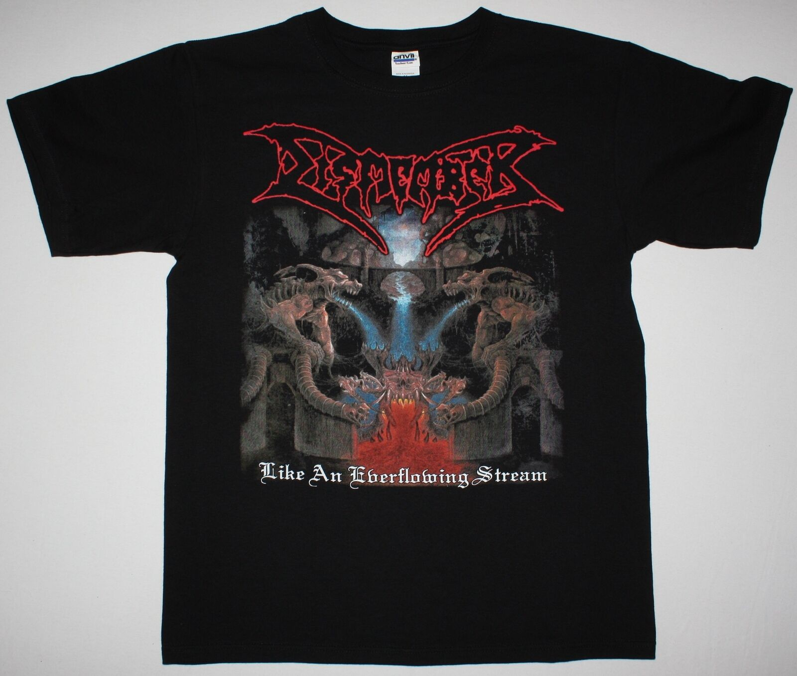 DISMEMBER LIKE AN EVERFLOWING STREAM DEATH CARCASS NEW BLACK T-SHIRT