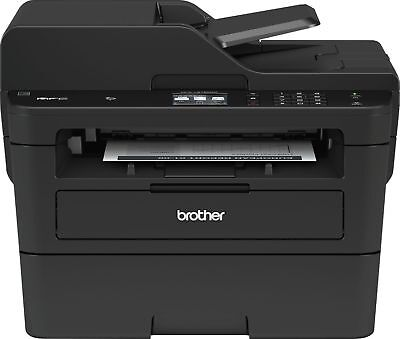Brother - MFC-L2750DW Wireless Black-and-White All-In-One Printer -