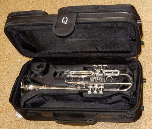 Shires TRQ13S C Trumpet w Case & Mouthpiece - Display Demo Model