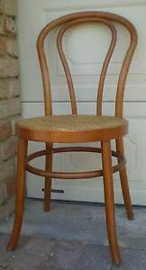 VINTAGE BENTWOOD CHAIR WITH CANE SEAT Gnangara Wanneroo Area Preview