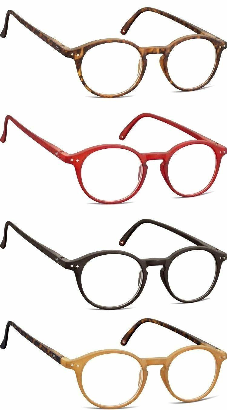 Business Rundbrille Lesebrille Flex Unisex Damen Herren Kunststoff Aktions-Preis