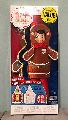 THE ELF ON THE SHELF CLAUS COUTURE JOLLY GINGERBREAD COSTUME & ACTIVITY SET NEW