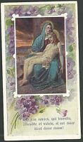 Estampa Antigua De La Virgen Dolorosa Andachtsbild Santino Holy Card Santini -  - ebay.es