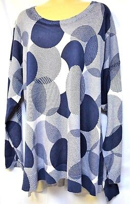 TS top TAKING SHAPE VIRTU plus sz M / 20 Spotted Pullover soft cotton knit NWT!