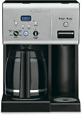 Cuisinart Coffee Plus 12-Cup Programmable Coffee Maker w/ Hot Water- Refurbished