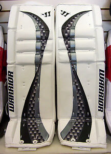 New Warrior Swagger sr. ice hockey goal Goalie Leg Pads