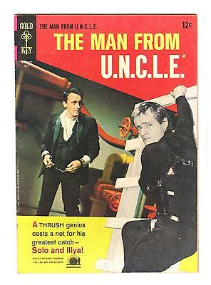 Man From Uncle 7  Vf   Pixilated Puzzle Affair  Free Shipping With Bin