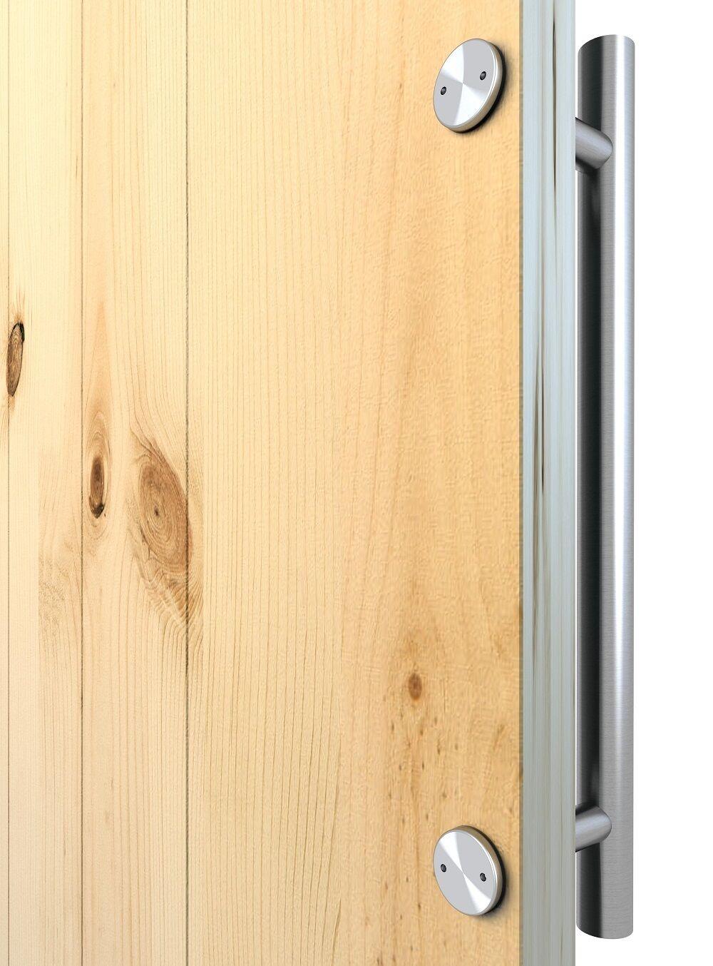 Furniture Drawer Door Cabinet Closet Wood Round Knob Pull Handle 50pcs N3K5