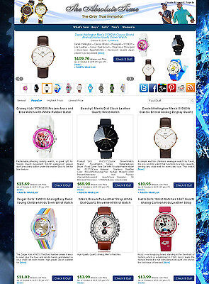 Watch Store - Ebay Amazon Commission Junction Affiliate Website