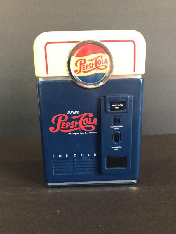 1996 Pepsi-Cola Coin Sorter Bank  Mini Vending Machine Collectible