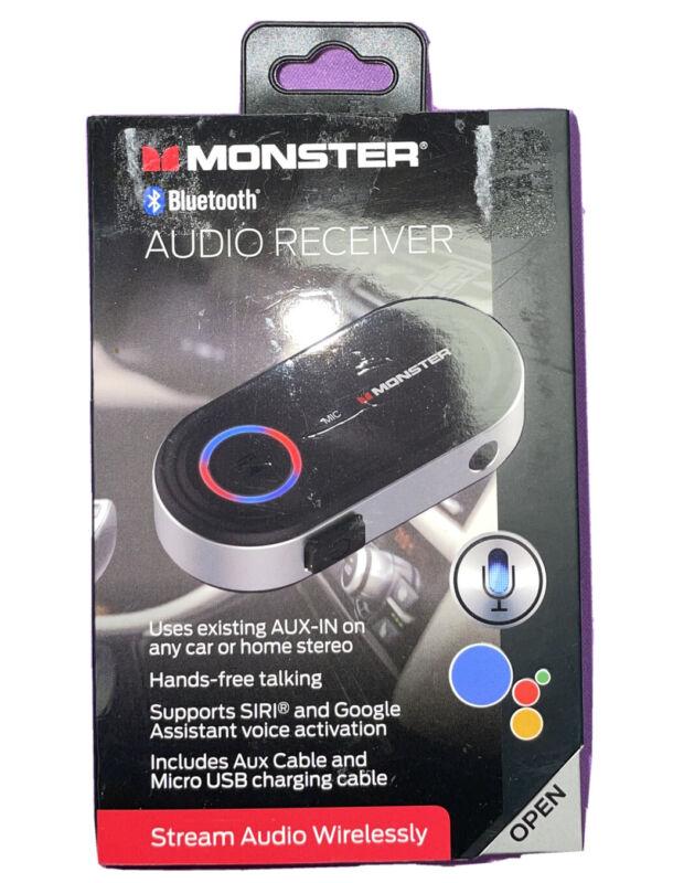 Monster Bluetooth Audio Receiver w/ Google & Siri Virtual Assistant BT 4.2