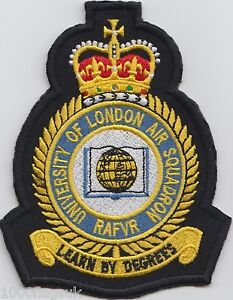 University-of-London-Air-Squadron-Embroidered-Crest-Badge-Patch-MOD-Approved