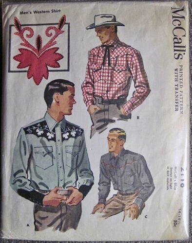 Vtg 1956 McCall Men