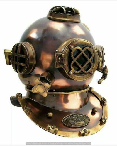 Antique Helmet Gift US Navy Mark v Diving Helmet Deep Sea Divers Helmet 18 inch
