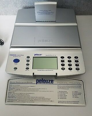 Pelouze Ps20dlps40dl Internet Ready Postal Scale Capacity 20lb