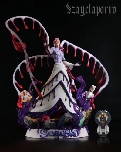 BLEACH SzayelAporro·Granz Statue Resin Figure Model GK Black Pearl Studio New