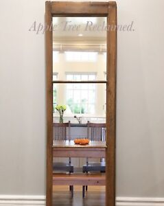 Refinished rustic mirror