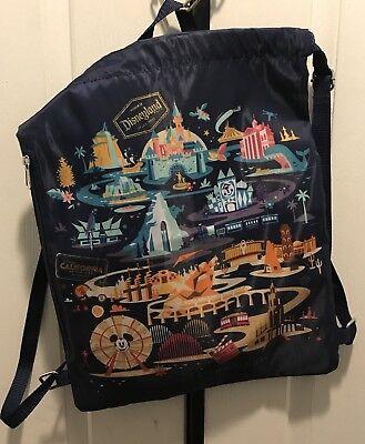 Disney Cinch Bag (DISNEY CALIFORNIA ADVENTURE DISCOVER THE MAGIC CINCH SACK BAG)