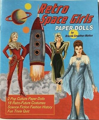 Retro Space Costume ( RETRO SPACE GIRLS Paper Dolls - Retro-future costumes from TV &)