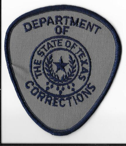 Texas Department of Corrections Shoulder Patch