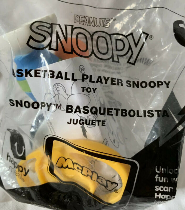Basketball snoopy peanuts collectible toy