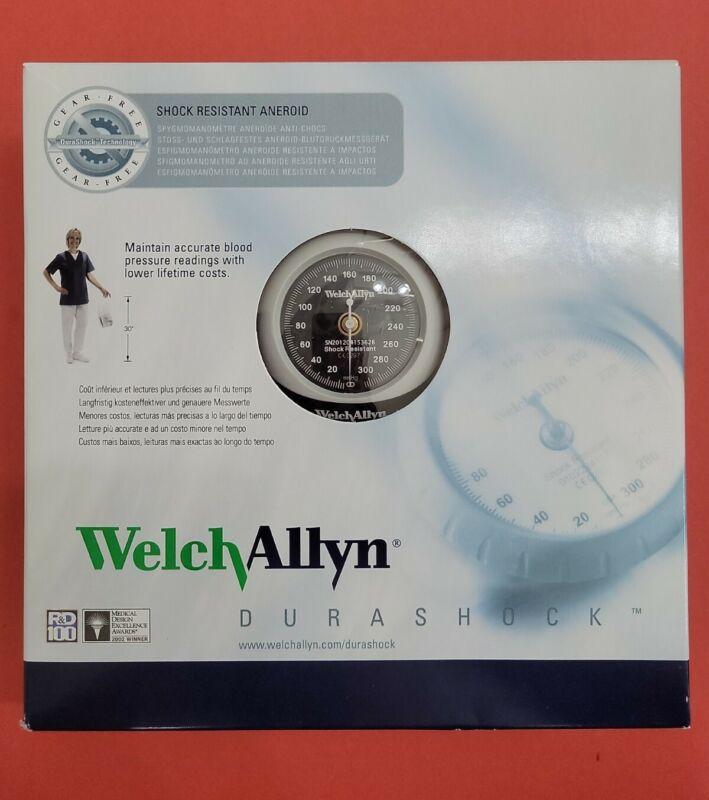 Welch Allyn DS45-11 Durashock Handheld Gauge and Large Adult Blood Pressure Cuff