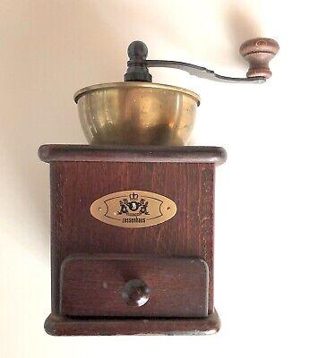 Zassenhaus Germany Crank Coffee Grinder No 161 Adjustable Grind