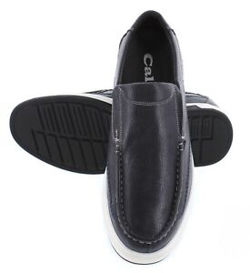 Men's leather loafers and sport shoes. Height increasing.