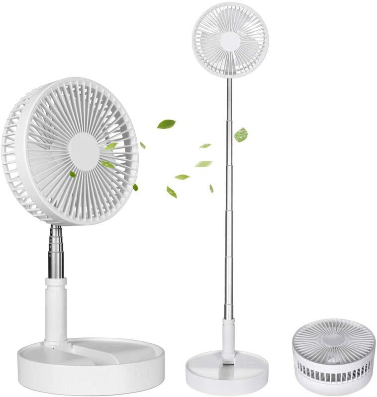 Portable Desk and Table Fan Foldable Standing Fan Telescopic Pedestal Fans