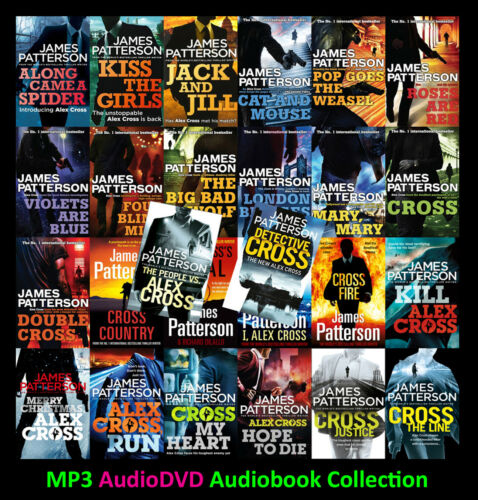The ALEX CROSS Series By James Patterson (28 MP3 Audiobook Collection)
